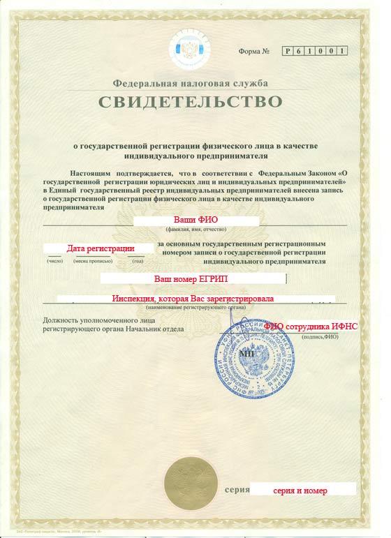 о регистрации ип и юр лиц в